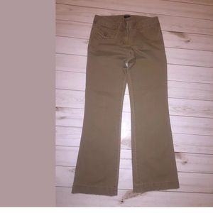 🌿 J Crew Womens Pant Size 4 City Fit Light Brown